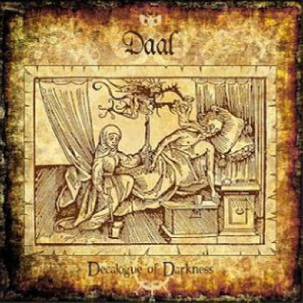 Daal - Decalogue of Darkness CD (album) cover