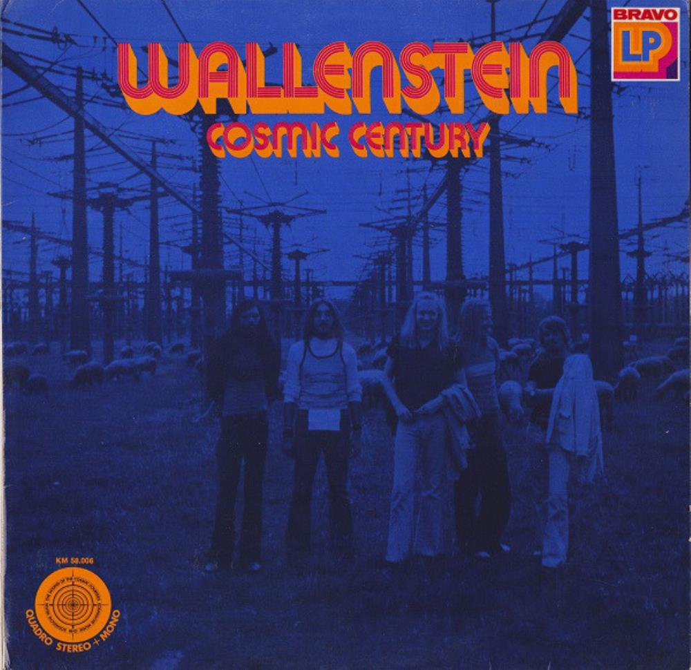 Wallenstein Cosmic Century album cover