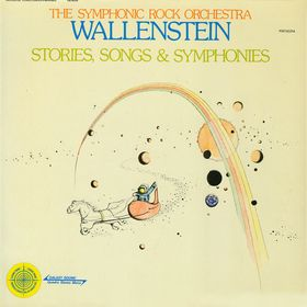 Wallenstein - Stories, songs & symphonies CD (album) cover