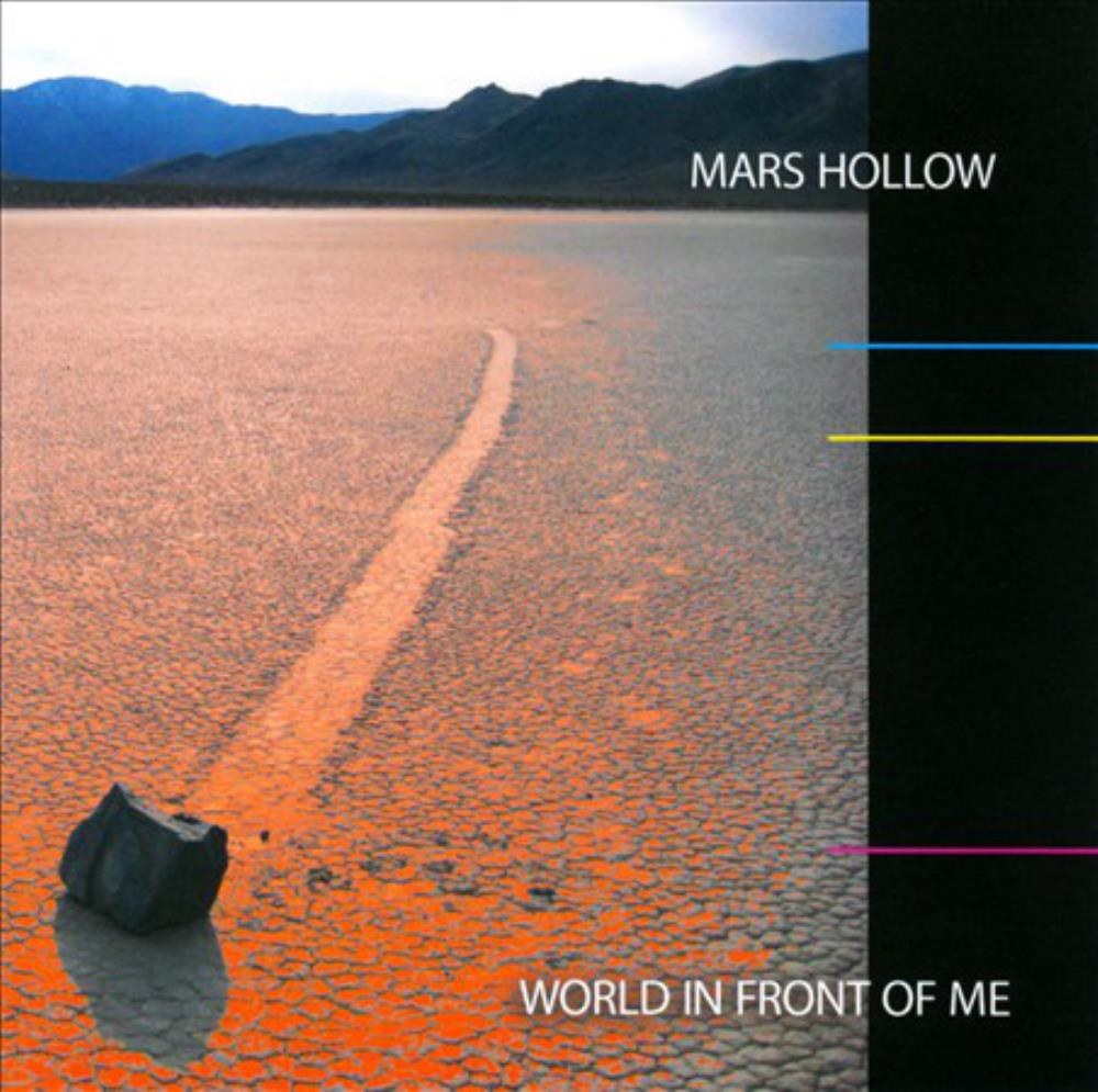 World In Front Of Me by MARS HOLLOW album cover