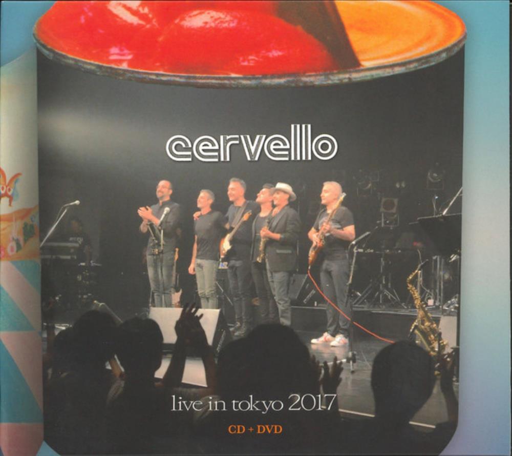 Live In Tokyo 2017 by CERVELLO album cover