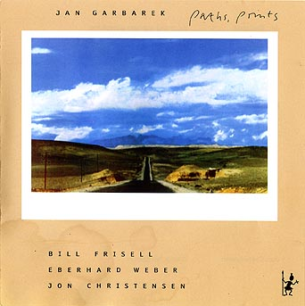 Jan Garbarek Paths, Prints album cover