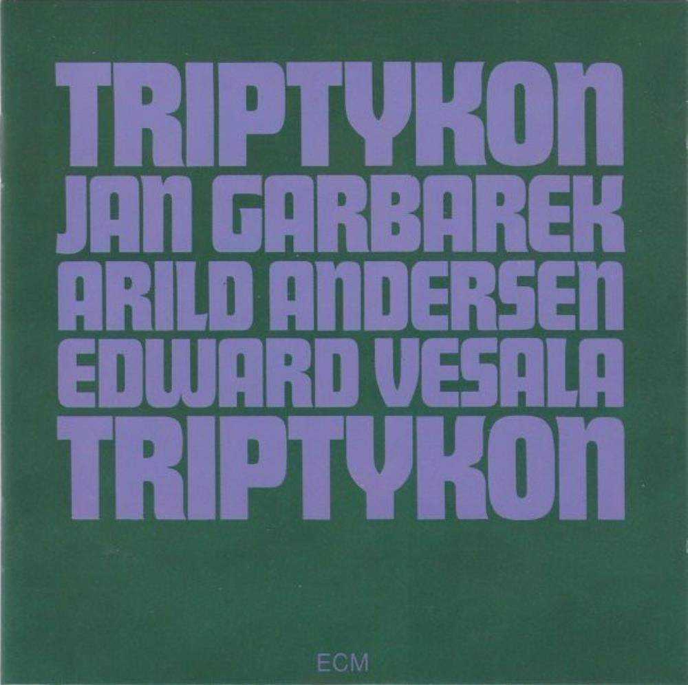 Jan Garbarek - Jan Garbarek, Arild Andersen & Edward Vesala: Triptykon CD (album) cover