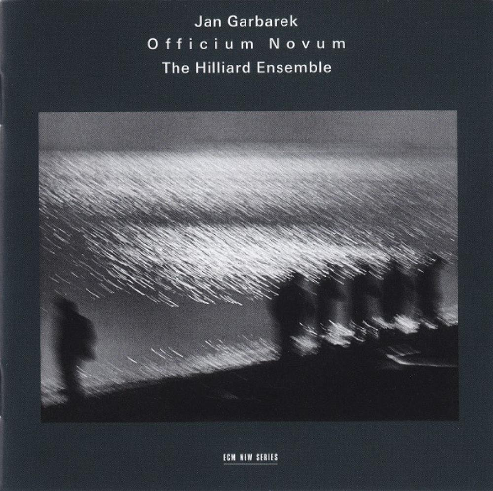 Garbarek & The Hilliard Ensemble: ‎Officium Novum by GARBAREK, JAN album cover