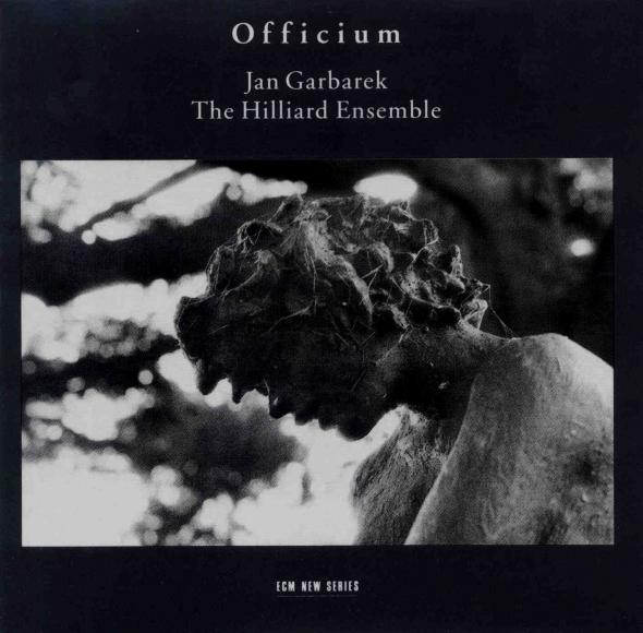 Jan Garbarek Officium (with The Hilliard Ensemble) album cover