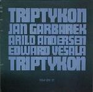 Triptykon (with Arild Andersen and Edward Vesala) by GARBAREK,JAN album cover