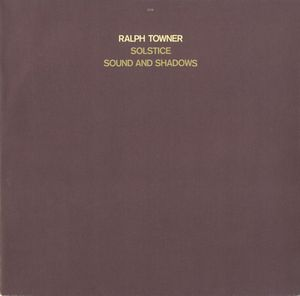 Ralph Towner Solstice Sound And Shadows album cover