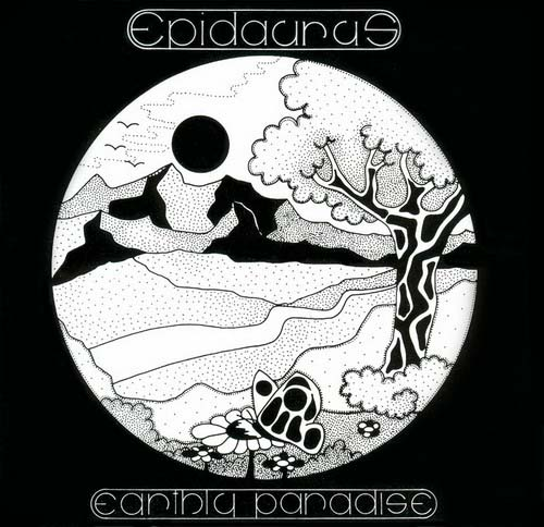 Epidaurus - Earthly Paradise CD (album) cover