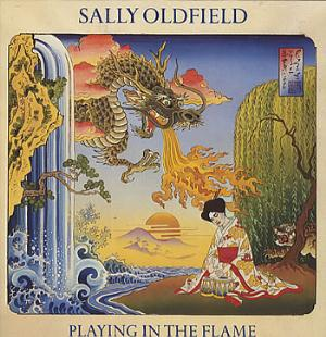 Sally Oldfield Playing In The Flame album cover