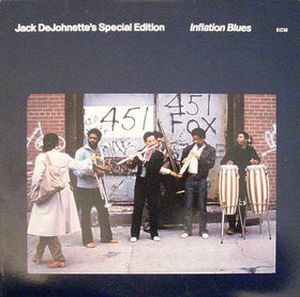 Jack DeJohnette - Inflation Blues CD (album) cover