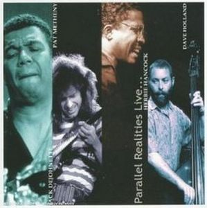 Jack DeJohnette - Parallel Realities Live CD (album) cover