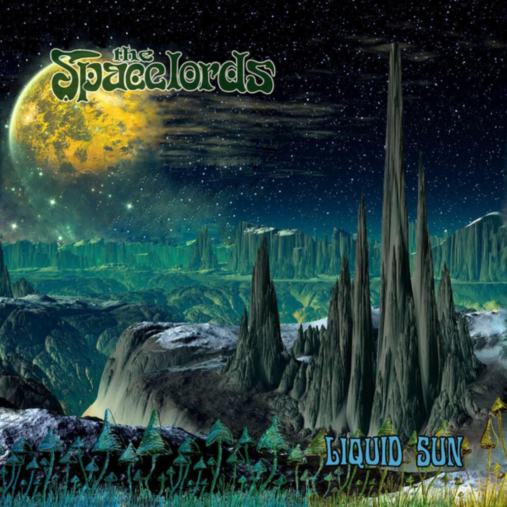Liquid Sun by SPACELORDS, THE album cover