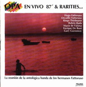 Opa En Vivo 87' & Rarities album cover