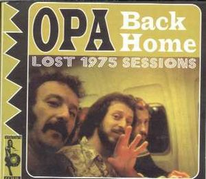 Opa Back Home - The Lost 1975 Sessions album cover