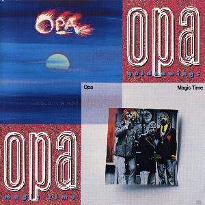 Opa Golden Wings/Magic Time album cover