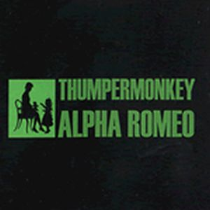 Thumpermonkey Lives! - Alpha Romeo CD (album) cover