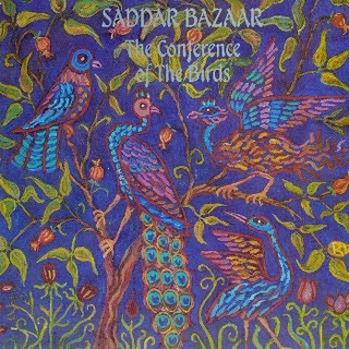 Saddar Bazaar - The Conference Of The Birds CD (album) cover