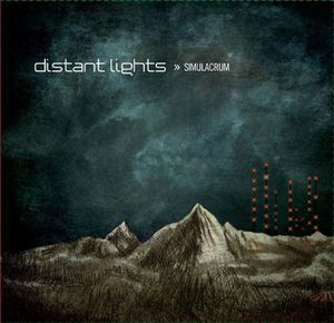 Distant Lights Simulacrum album cover