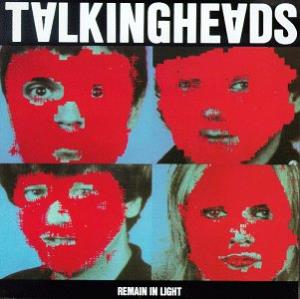 Remain In Light by TALKING HEADS album cover