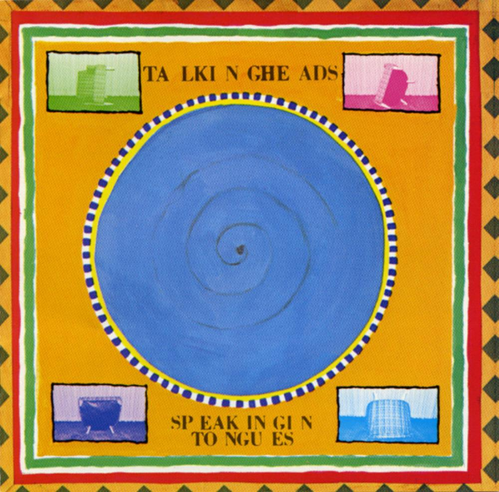 Talking Heads Speaking In Tongues album cover