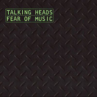 Talking Heads Fear Of Music album cover