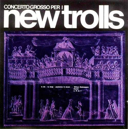New Trolls - Concerto Grosso Per I New Trolls CD (album) cover