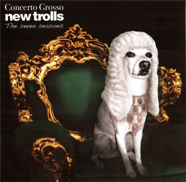 New Trolls Concerto Grosso, The Seven Seasons album cover