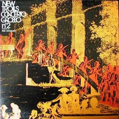 New Trolls - Concerto Grosso N. II CD (album) cover