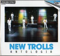 Antologia by NEW TROLLS album cover