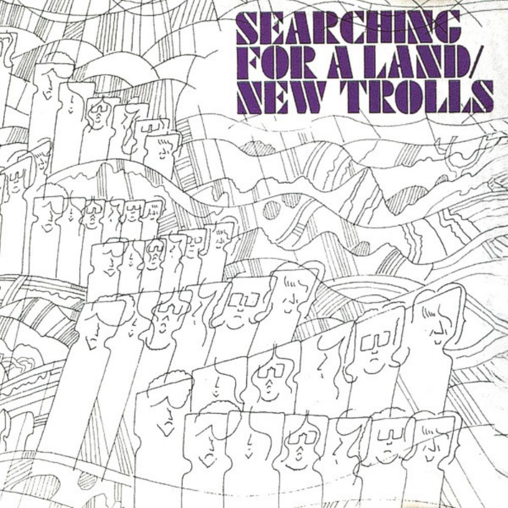 New Trolls Searching For A Land album cover
