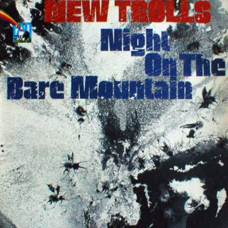 New Trolls Night on the bare mountain album cover