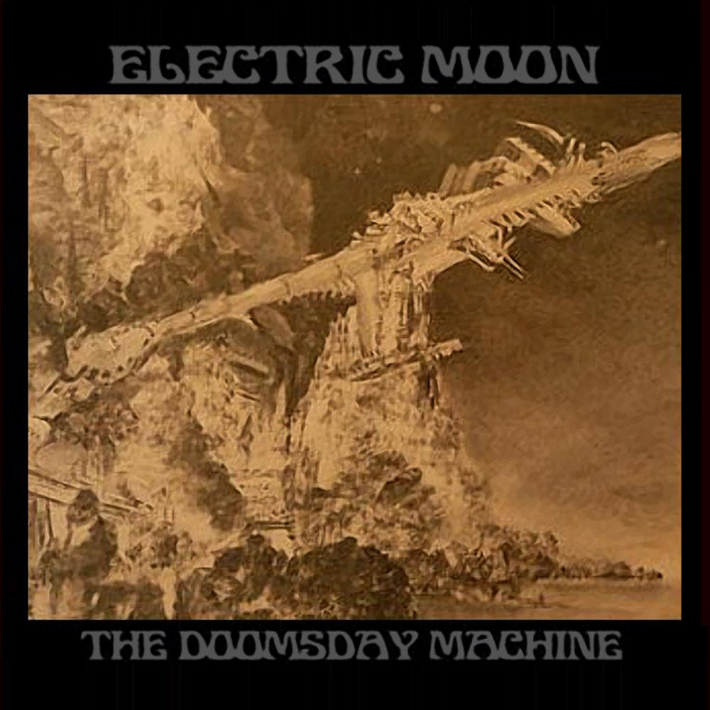 Electric Moon - The Doomsday Machine CD (album) cover