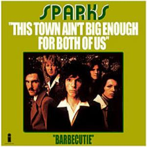 This Town Ain't Big Enough for Both of Us by SPARKS album cover
