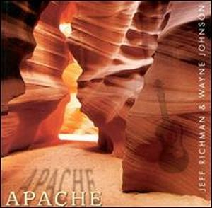 Jeff Richman Apache (with Wayne Johnson) album cover