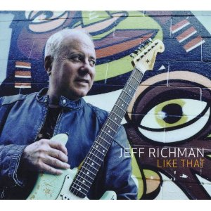 Jeff Richman - Like That CD (album) cover