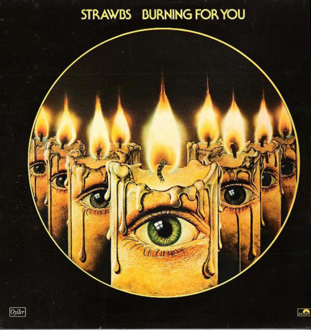 Strawbs Burning For You album cover
