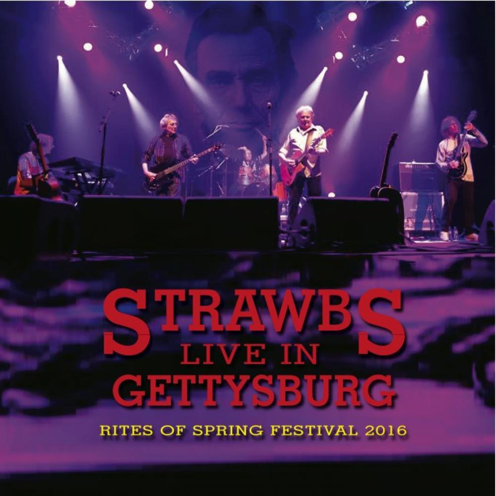 Live In Gettysburg by STRAWBS album cover