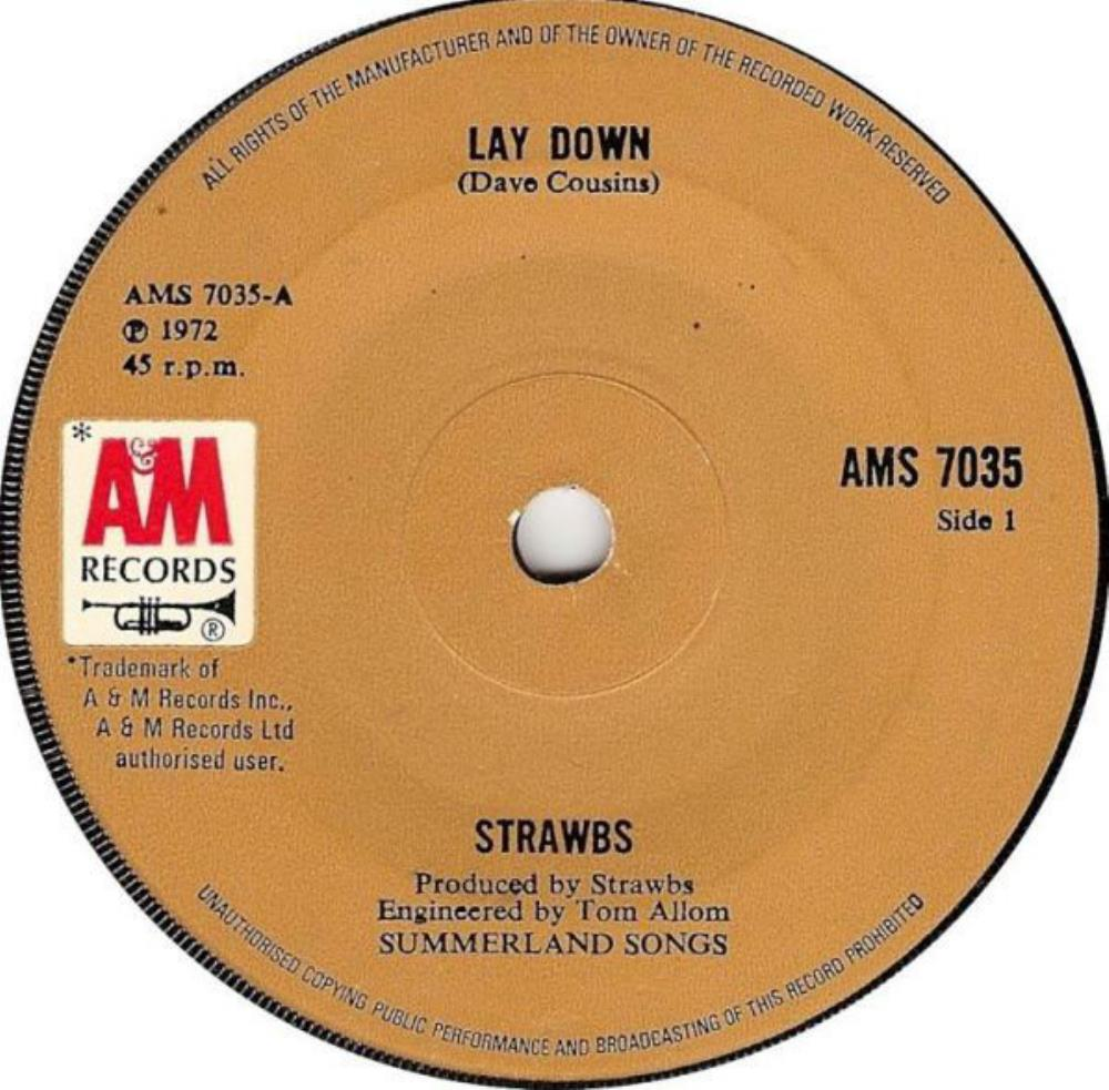 Strawbs Lay Down/Backside album cover