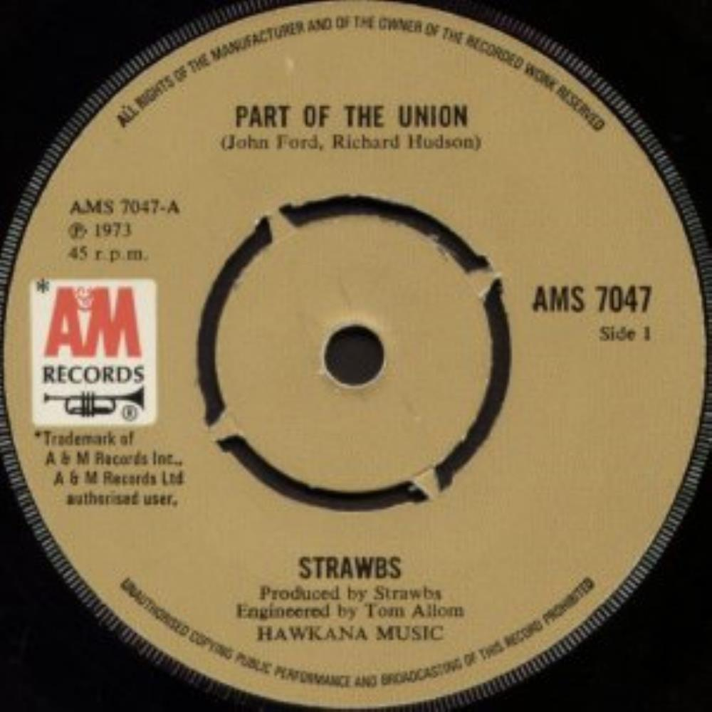 Strawbs Part of the Union/Will you go album cover