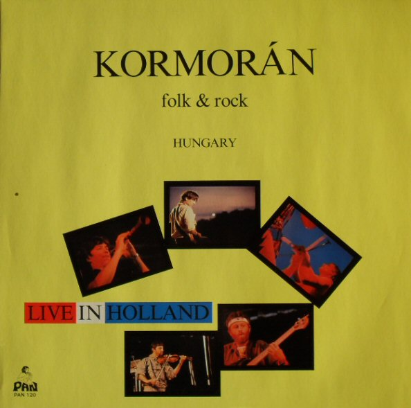 Kormorán - Live In Holland CD (album) cover