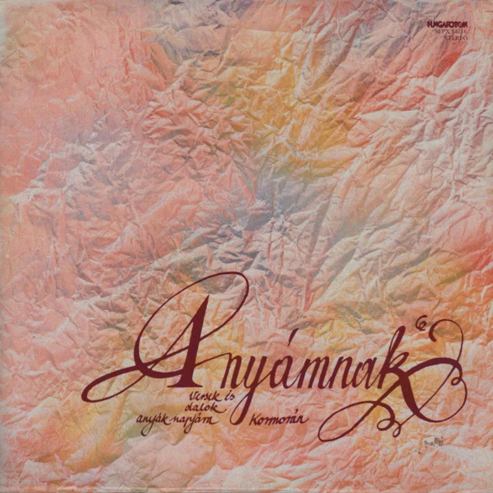Kormorán Anyámnak (Versek és dalok) / My Mother (Poems and Songs) album cover