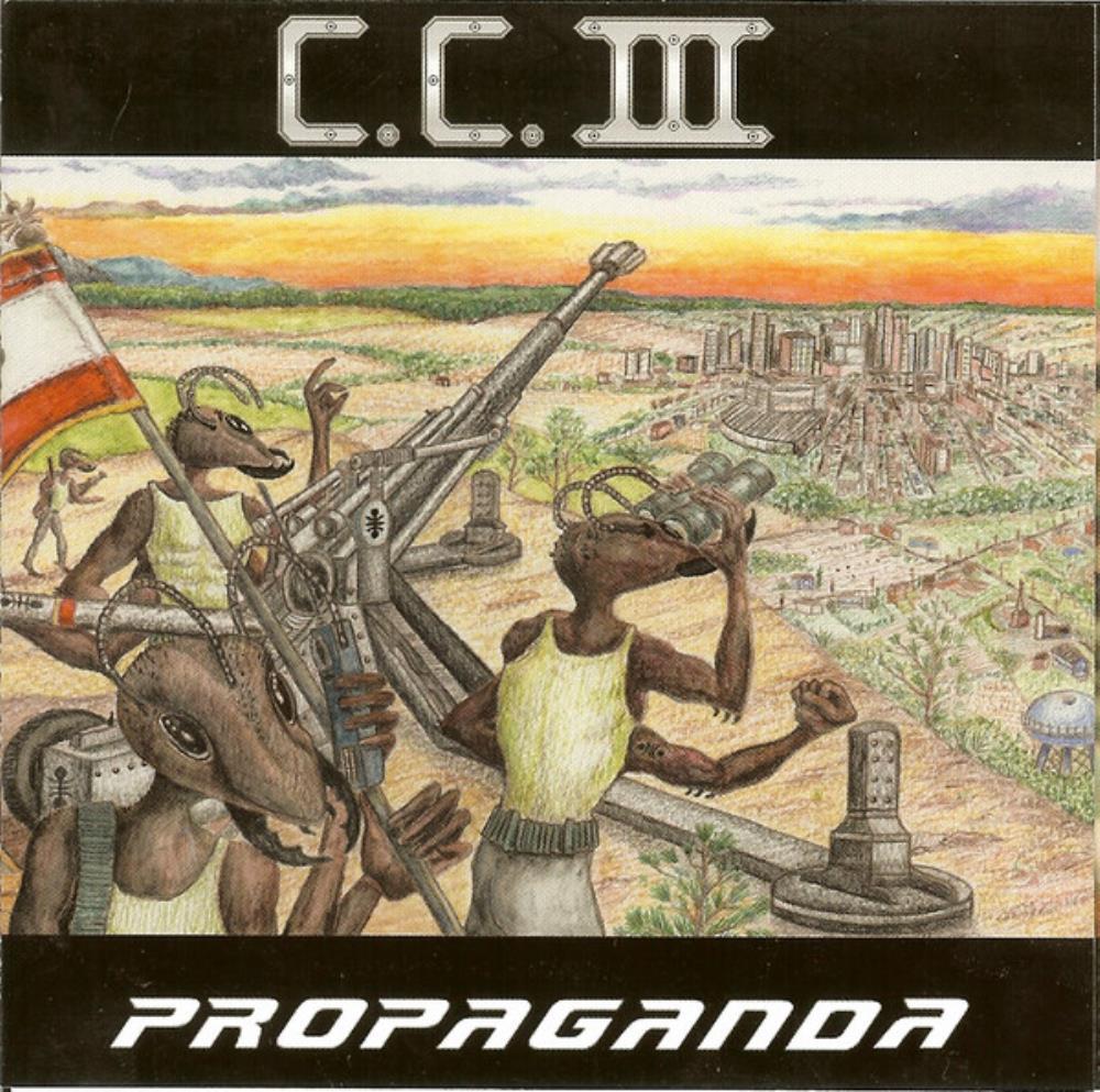 Propaganda by CHAOS CODE album cover