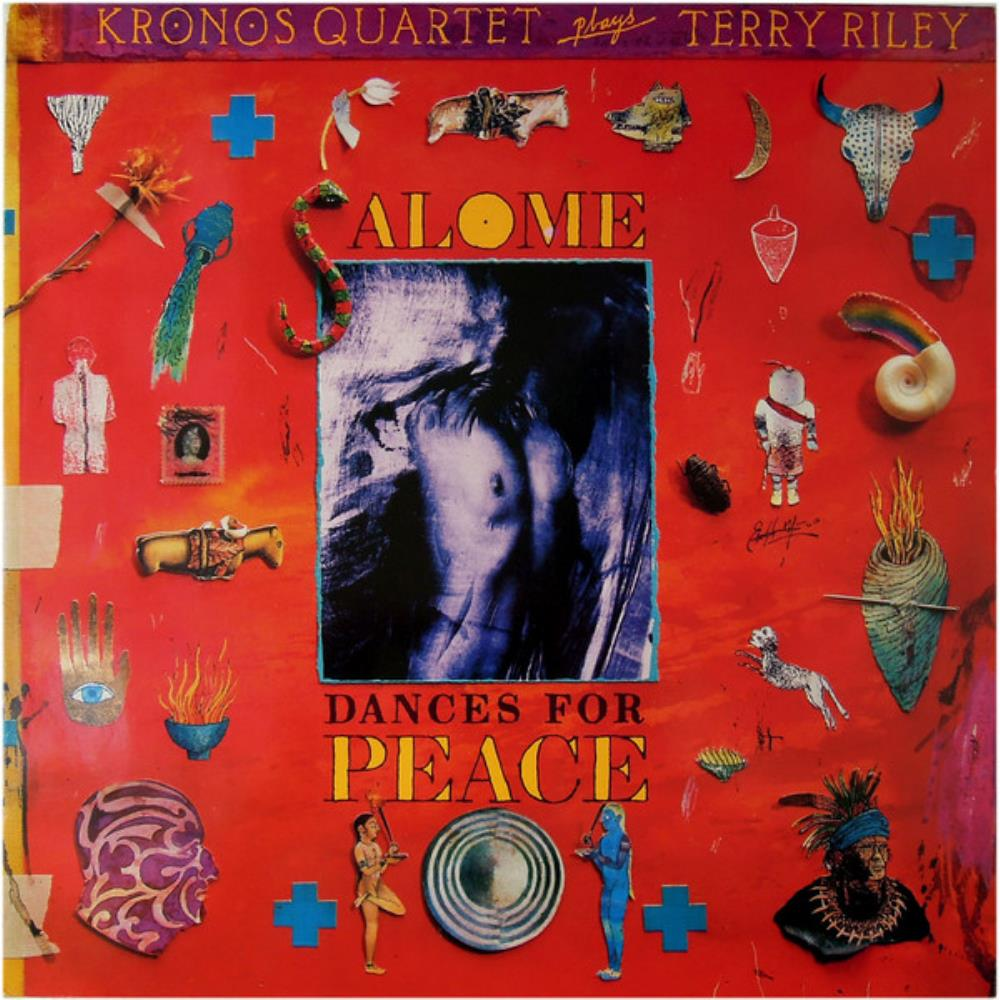 Terry Riley Kronos Quartet: Salome - Dances For Peace album cover