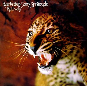 Kvartetten Som Sprangde - Kattvals CD (album) cover