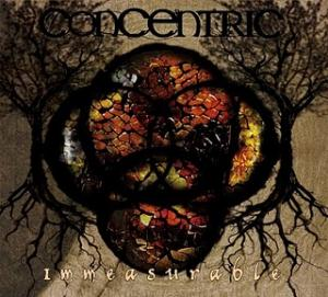 Concentric - Immeasurable CD (album) cover