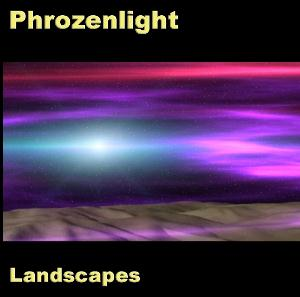 Phrozenlight Landscapes album cover