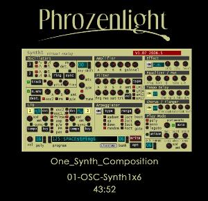 Phrozenlight 01-OSC-Synth1x6 album cover