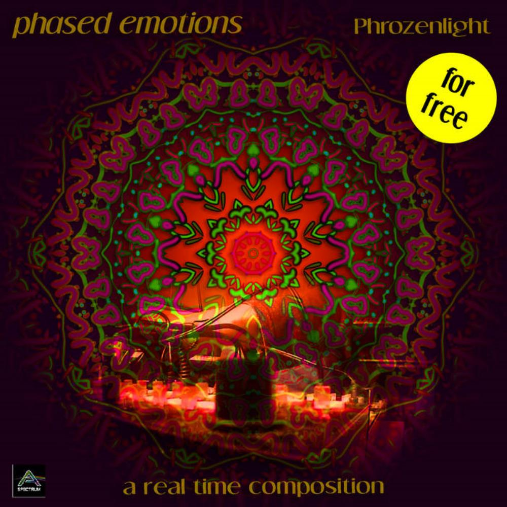 Phased Emotions by PHROZENLIGHT album cover