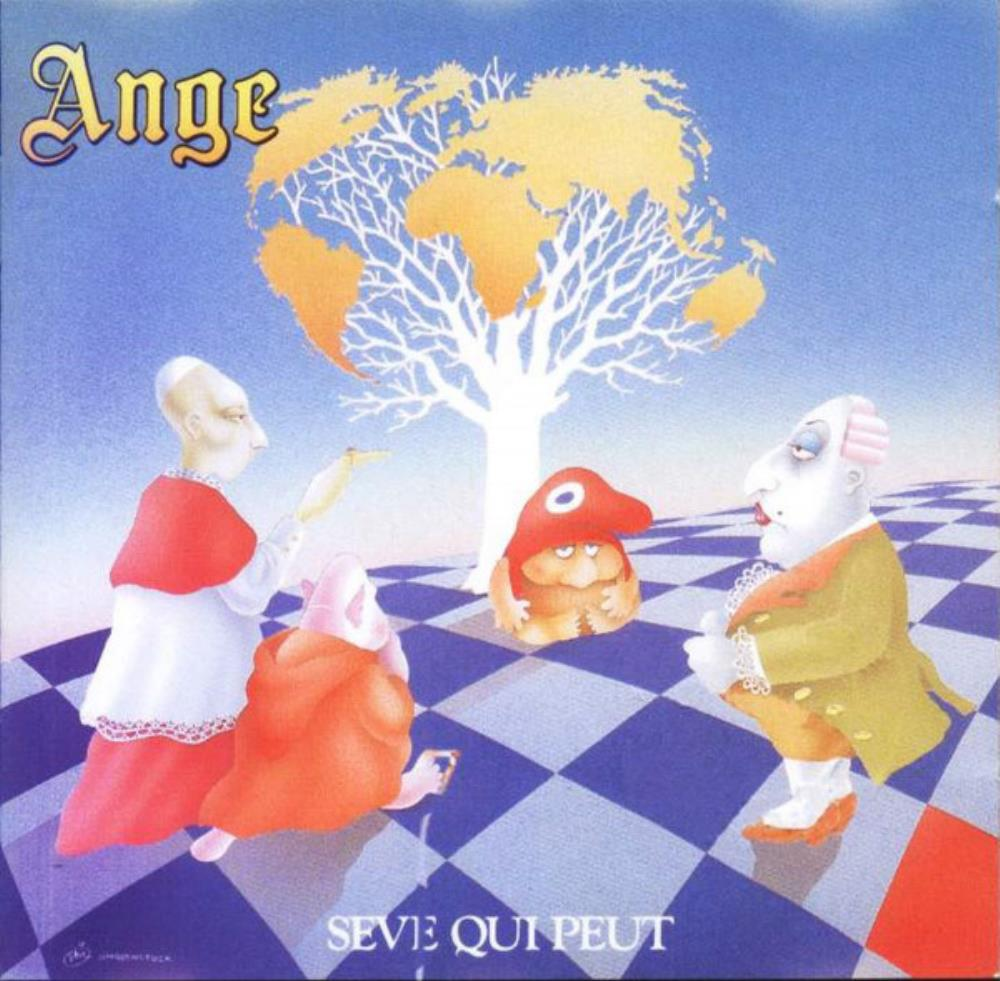 Ange - Sève Qui Peut CD (album) cover