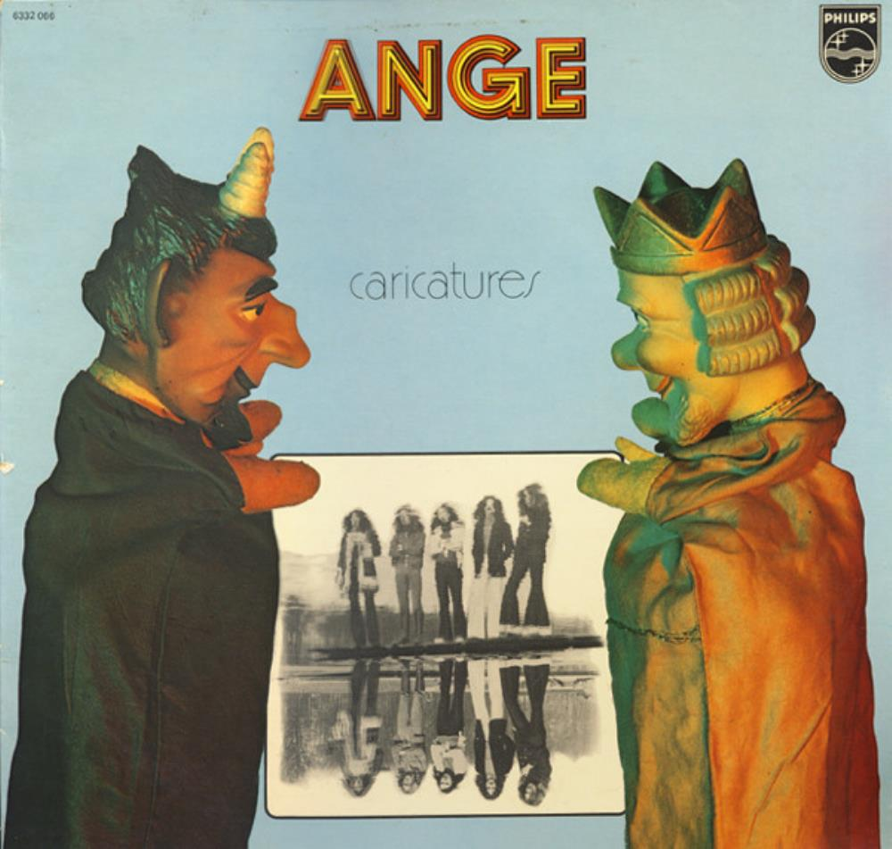 Caricatures by ANGE album cover